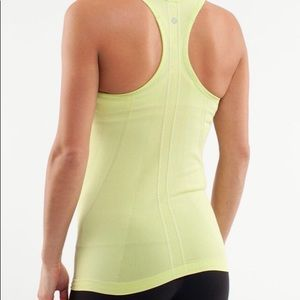🍋 Lululemon Run Swiftly Tank
